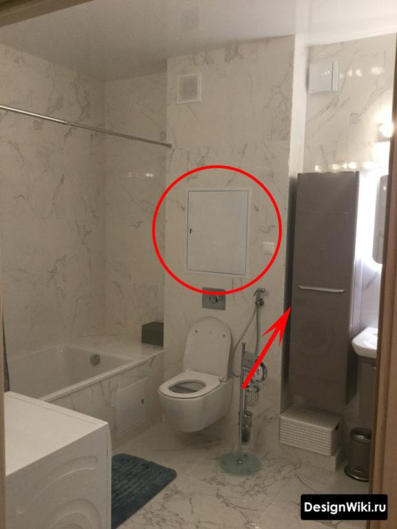 Планировка ванной комнаты совмещенной с туалетом #дизайнмебели #ванная