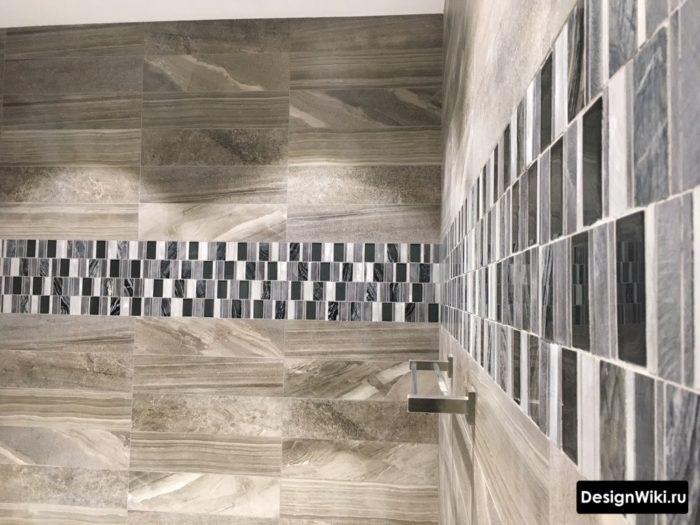 Плитка мозаика для ванной бордюр