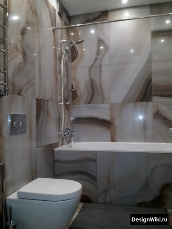 Сланцевая плитка для ванной