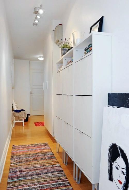 Современный дизайн коридора в скандинавском стиле