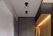 Современный интерьер коридора в квартире