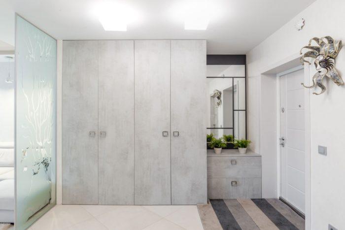 Современный интерьер прихожей в квартире