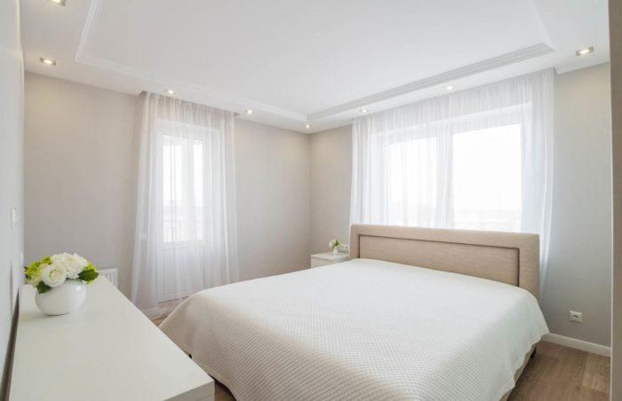 Спальня современная классика минимализм