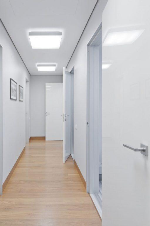 Стены под покраску в коридоре