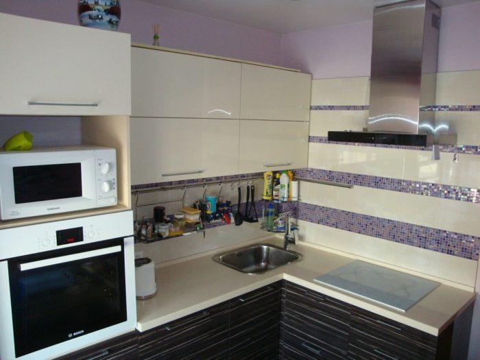 Фото рейлингов на маленькой кухне