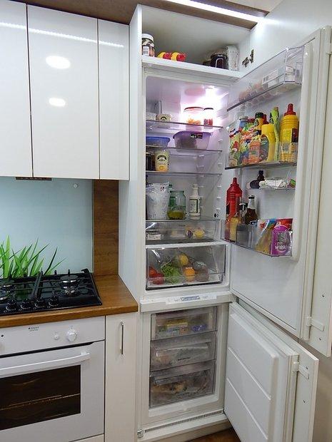 Хрущевка со встроенным холодильником