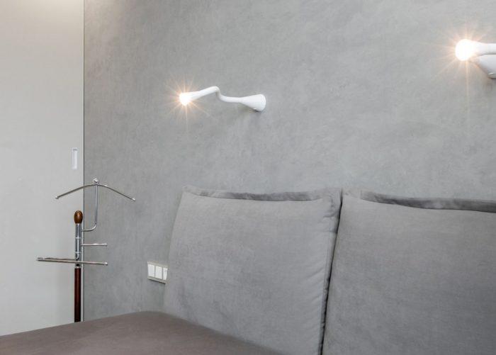 Цвет стен и постельного белья в маленькой спальне