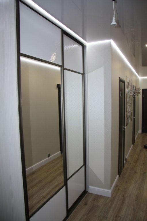 Шкаф-купе в коридоре дизайн