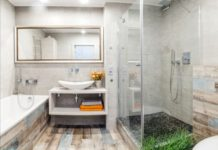 Дизайн-прямоугольной-плитки-для-ванной