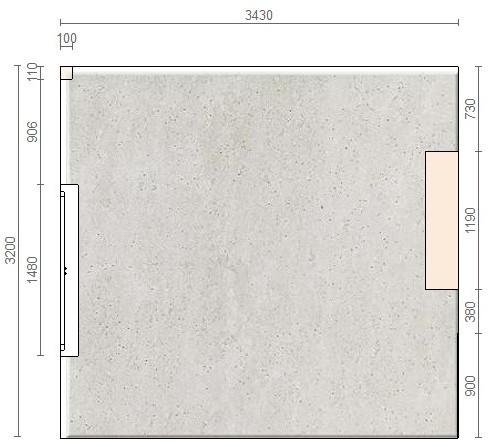 Квадратная кухня 10 метров