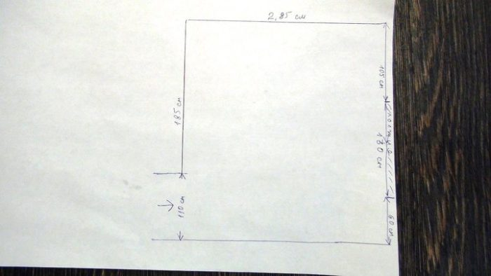 Планировка небольшой квадратной кухни
