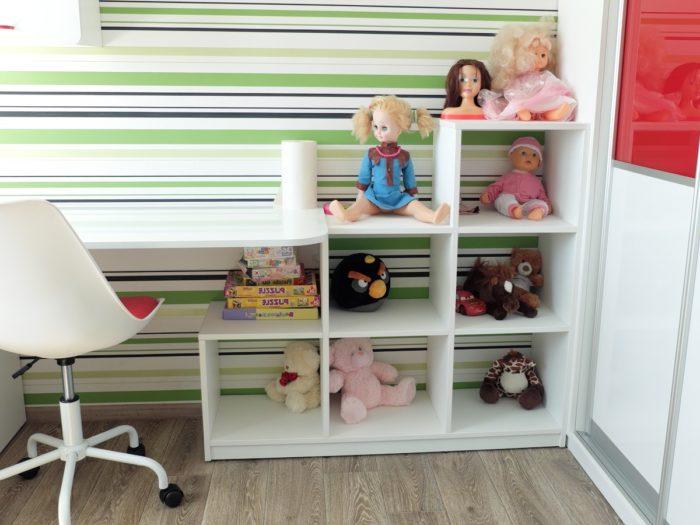 Белая мебель для разнополых детей в детскую