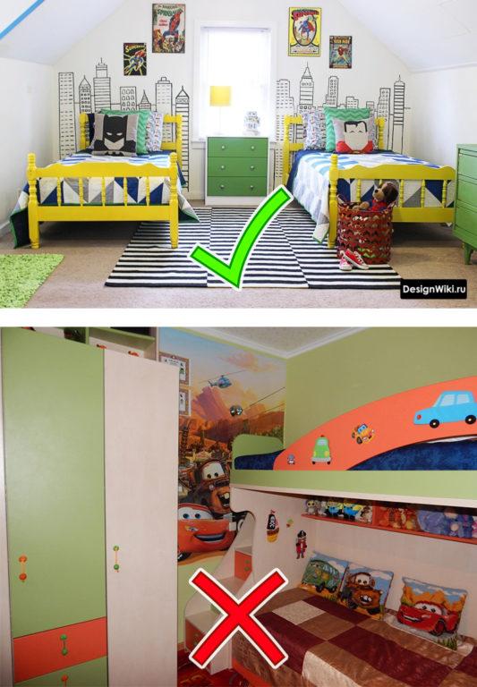 Выбор стиля детской комнаты для двух мальчиков #дизайн #дизайндетской