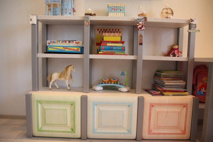 Детский шкаф для двух детей
