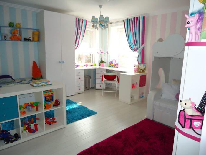 детская комната для разнополых детей 92 фото и 2 типа дизайна