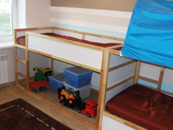 Кровать на 2ом этаже для мальчика дошкольника
