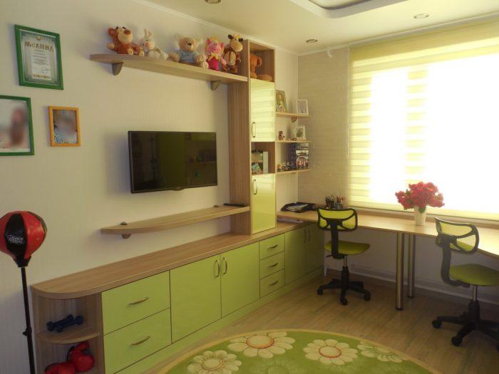 Мебель в детской для школьников