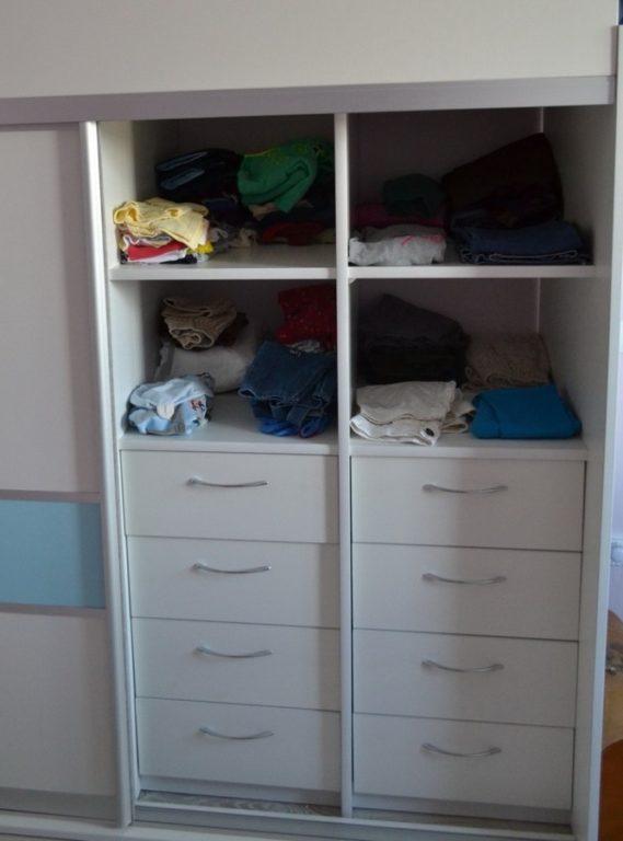 Наполнение шкафа для детской