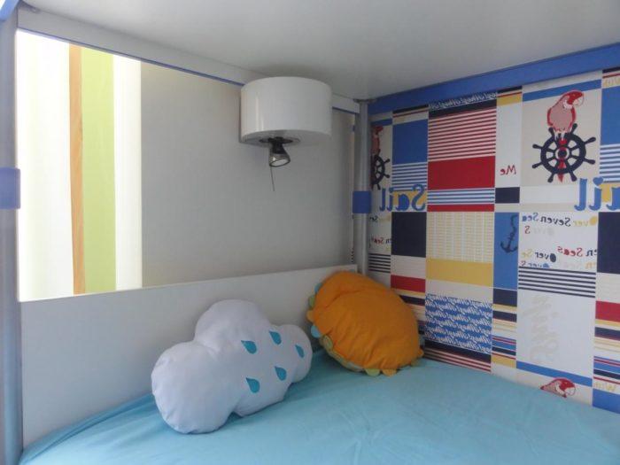 Свет для второго уровня двухъярусной кровати