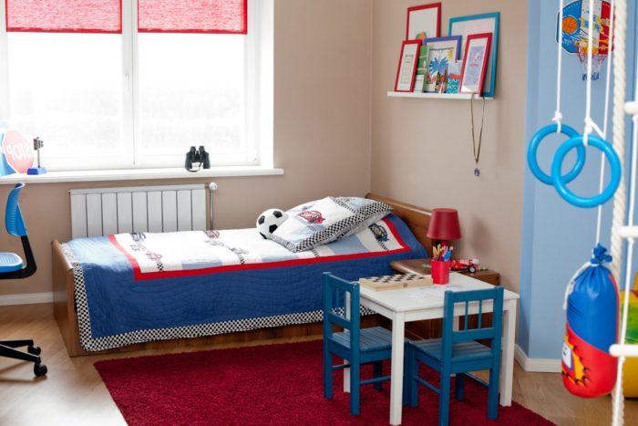 Стильный дизайн комнаты для двух мальчиков