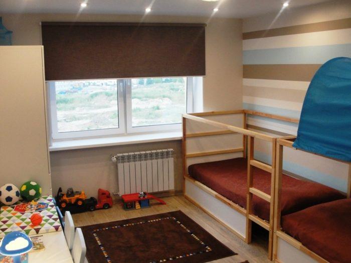 Трансформируемая кровать в детской
