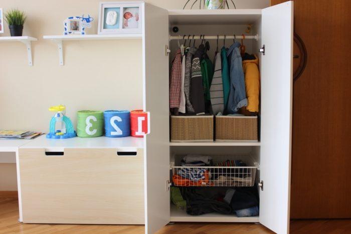 Шкаф для одежды в детской