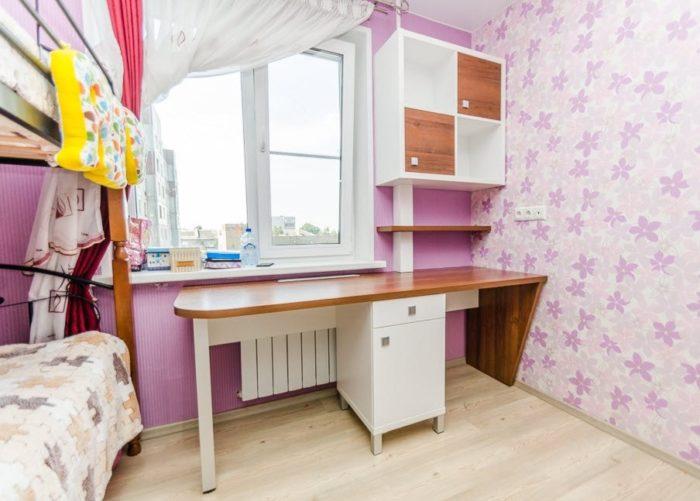 Письменный стол для двоих девочек
