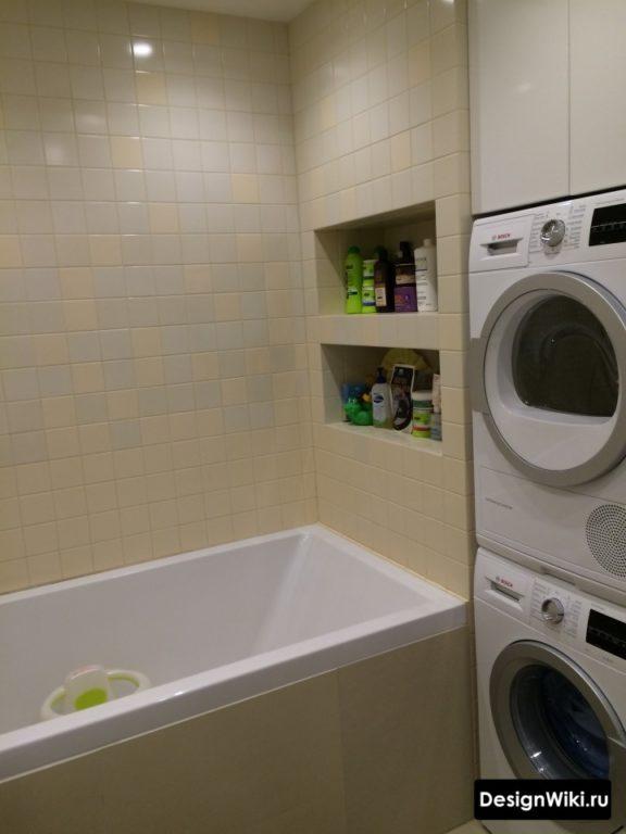 Ванная 3 кв м со стиральной машиной без туалета