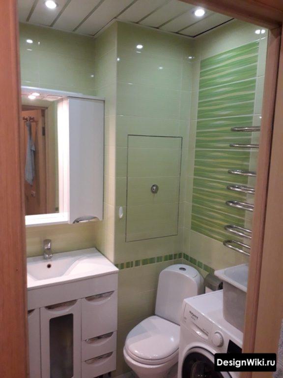 Дизайн ванной 3 кв м с туалетом и стиральной машиной