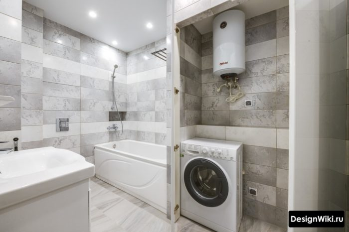 Дизайн ванны с туалетом 6 кв.м