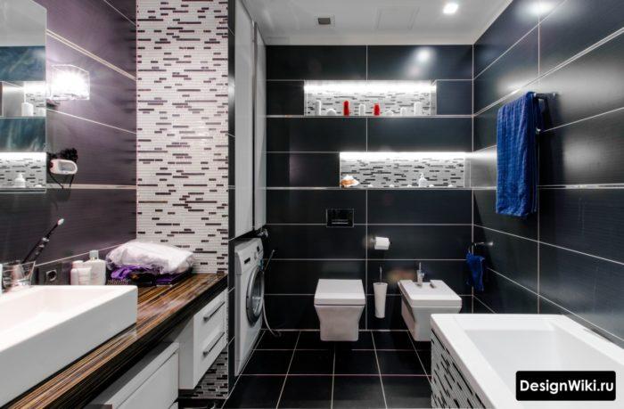 Арт-деко - модный стиль дизайна ванной