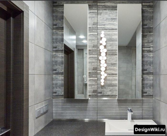 Ванная комната в стиле конструктивизм