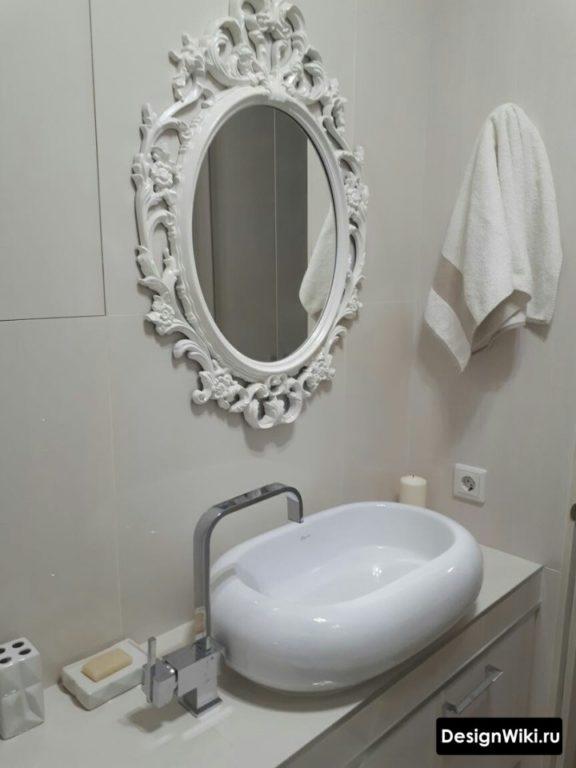 Ванная комната в стиле современная классика