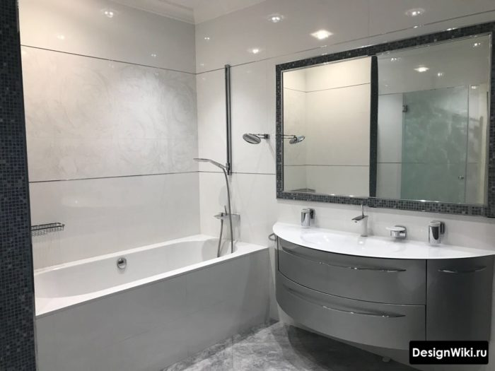 9 идей современного дизайна ванной комнаты в 2018 и 84 фото
