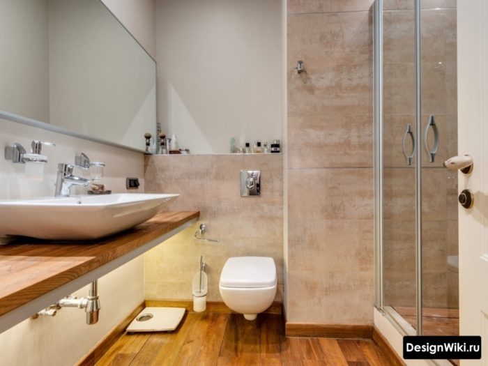 Дизайн плитки для ванной в современном стиле