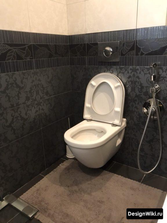 Дизайн туалета с псевдобиде