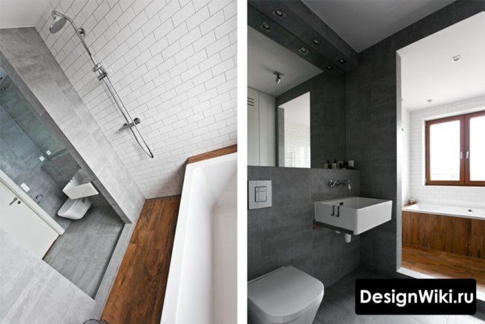 Примеры ванных в скандинавском стиле