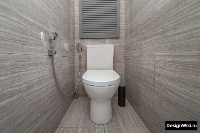 Способ недорого скрыть трубы в туалете