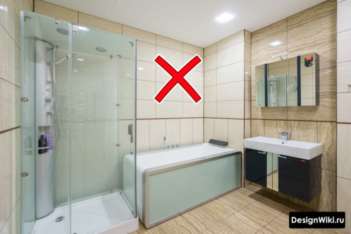 Ультрасовременная ванна
