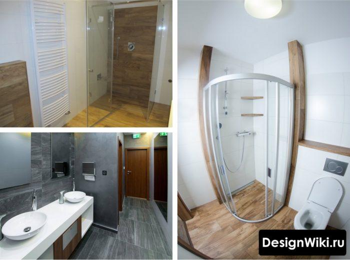 Элементы скандинавского стиля в ванных