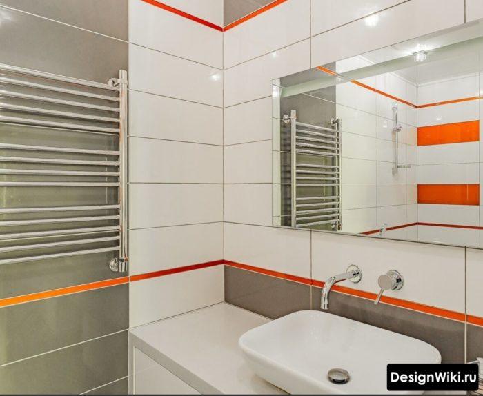 Выбор декоров плитки для ванной