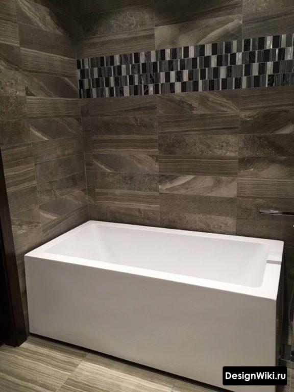Выбор матовой плитки для ванной