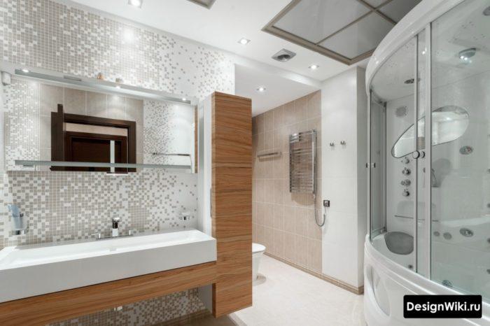 Выбор плитки для стен ванной