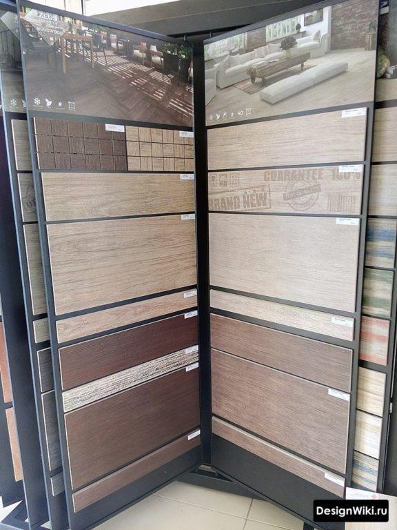 Выбор плитки из одной коллекции или нет