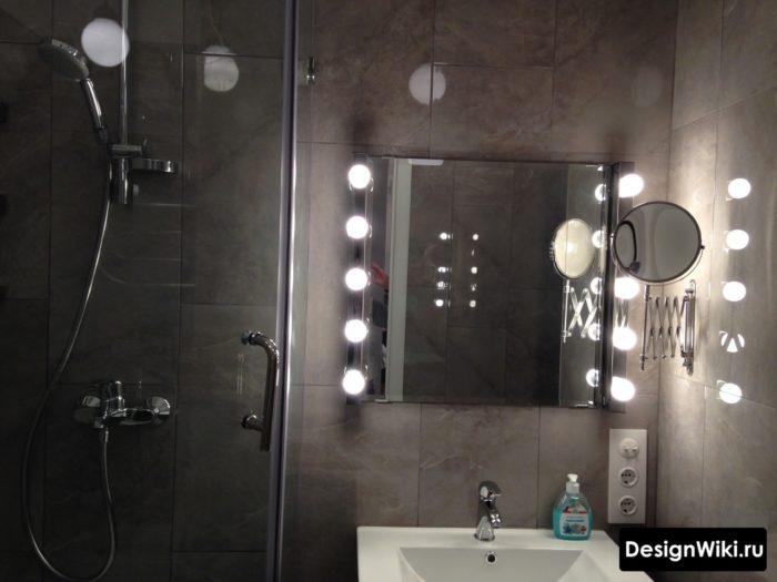 Дополнительное освещение ванной в хрущевке