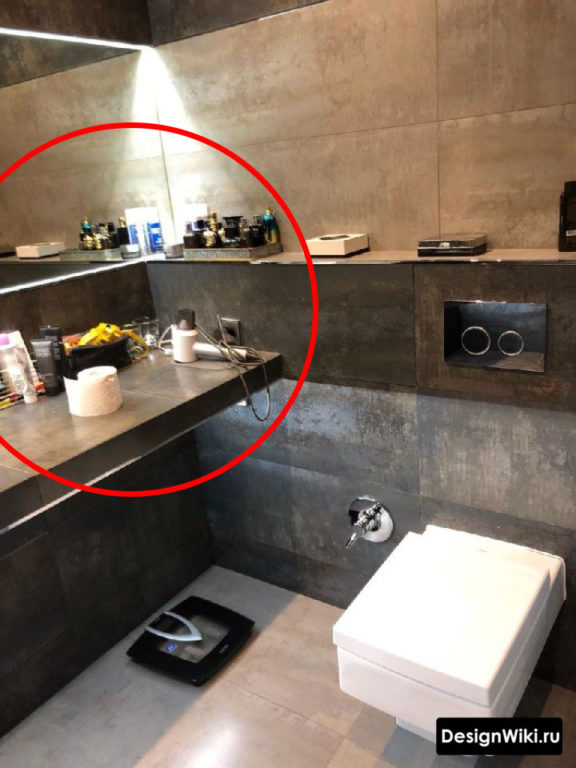 Лофт в ванной ошибки