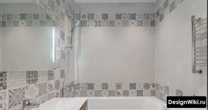 Можно ли выбирать для ванной только серую плитку