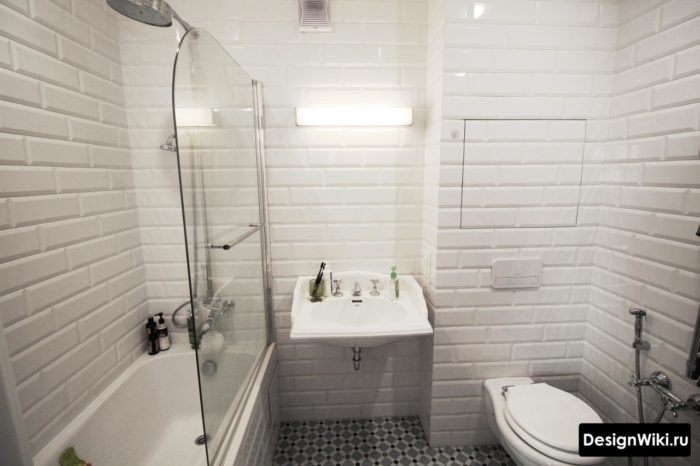 Можно ли выбирать плитку белый кабанчик в ванную