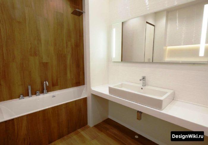 Плитка для ванной без швов стоит ли выбирать