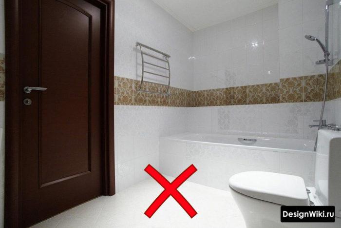 Плитка 40 на 20 в ванной почему не стоит выбирать